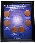 Key of Solomon Charms Display Board