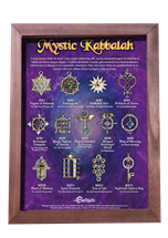 Mystic Kabbalah Display Board