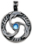 Dolphin Triskilian Pendant for Guidance & Inner Peace