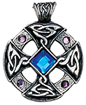 Celtic Cross Pendant for Inspiration and Intuition