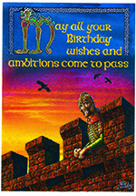 Birthday Ambitions Card - 6 Pack