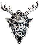 Cernunnos Pendant for Strength & Empowerment