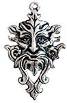 Green Man Pendant for Planetary Energy