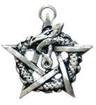 Ouroborous Pendant for Healing & Regeneration