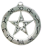 Planetary Pentagram for Success in Working Spells