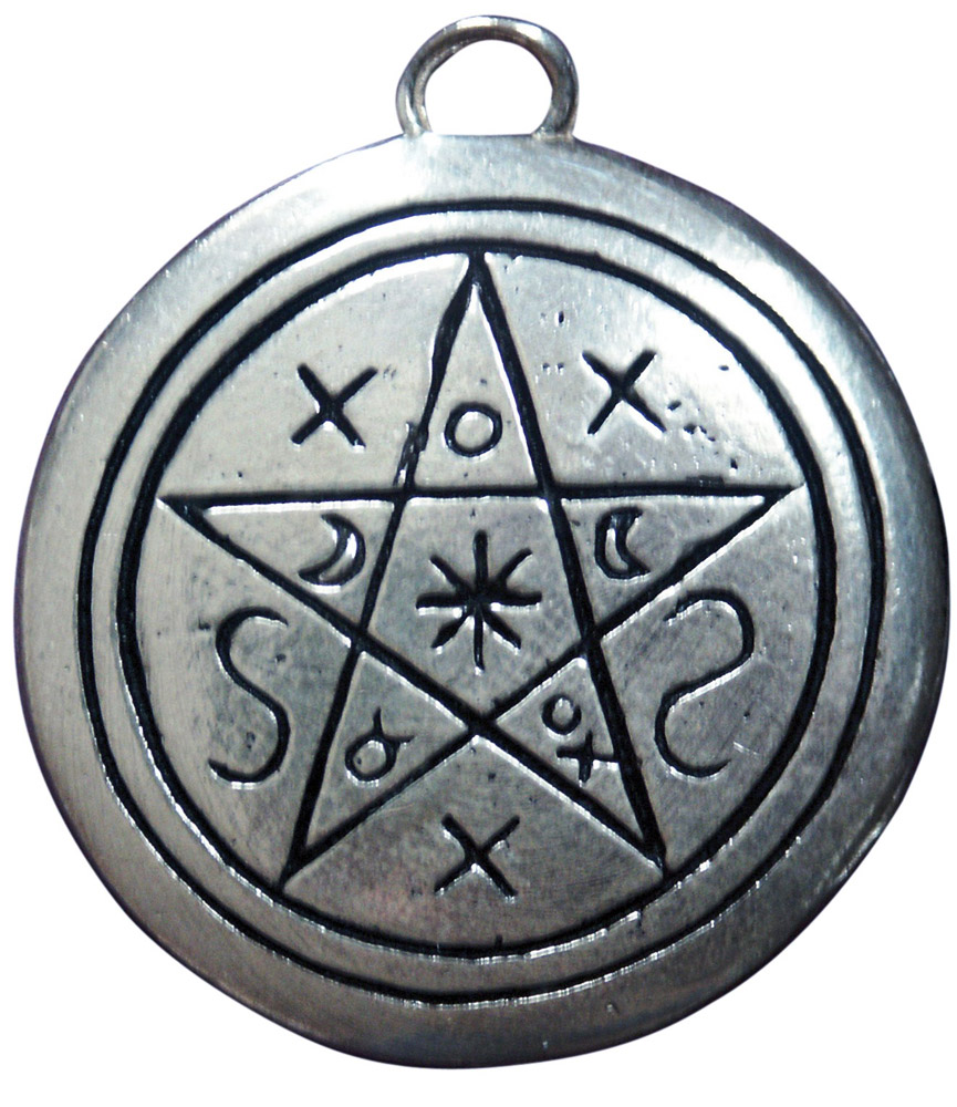 Of shadows pendant for contact with earth spirit pentacle of shadows pendant for contact with earth spirit biocorpaavc Choice Image