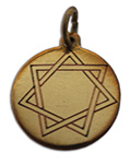 Heptagram, Mystic Star Charm for Harmony in Love & Friendship