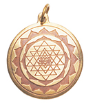 Shri Yantra Charm for Good Luck