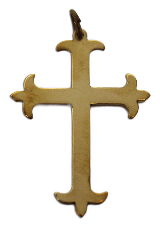 Celtic Cross Charm For Health Courage Protection