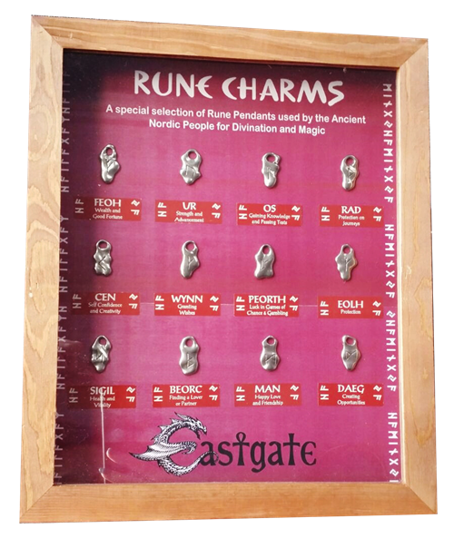 Rune Charms Starter Set & Display Board