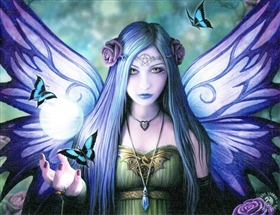 Mystic Aura Canvas Art Print by Anne Stokes