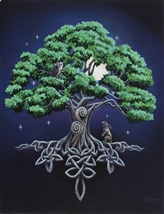 Tree of Life Canvas Art Print by Lisa Parker