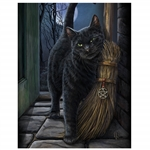Brush with Magic Canvas Art Print by Lisa Parker