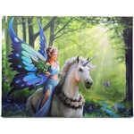 Realm of Enchantment Canvas Art Print by Anne Stokes