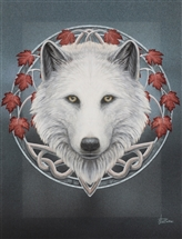Guardian of the Fall Canvas Art Print by Lisa Parker