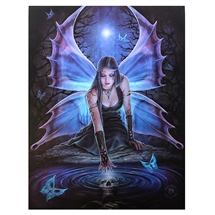 Immortal Flight Canvas Print By Anne Stokes