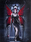 Arachnafaria Canvas Art Print by Anne Stokes