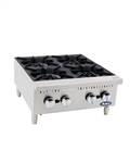 ATHP-24-4 HD 24″ Countertop Range (Hot Plates) by Atosa - made available by Celebrate Festival Inc