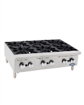 ATHP-36-6 HD 36″ Countertop Range (Hot Plates) by Atosa - made available by Celebrate Festival Inc