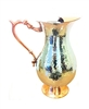 Stainless-Steel- Hammered-Copper-Handle Water Pitcher - By Celebrate Festival Inc