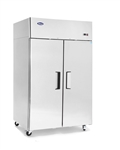 MBF8002GR Upright Freezer – Top Mount (2) Two Door