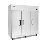 Top Mount (3) Three Door Refrigerator by Atosa - made available by Celebrate Festival Inc