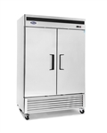 Bottom Mount (2) Two Door Refrigerator by Atosa -made available by Celebrate Festival Inc