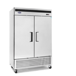 Bottom Mount (2) Two Door Refrigerator by Atosa - made available by Celebrate Festival Inc