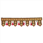 Toran /Thoranam/ Vandanwaar Diamond Shape - Decorative Door / Wall Hanging