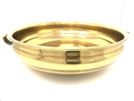 Handcrafted Traditional Pure Brass Urli Bowl/Pot 20 Inches - made available by Celebrate Festival Inc