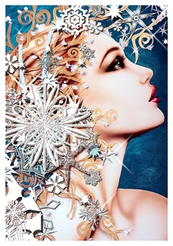 Janesko Greeting Card Frost