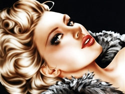 """Hollywood Blonde"" Limited Edition Print"