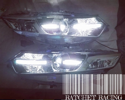 CU2/CW2 CUSTOM PARKING STRIP HEADLIGHTS