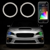 RGB SWITCHBACK HALO KIT - XKchrome SMARTPHONE APP-ENABLED