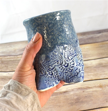 Pottery - Tripod Cup - Crystal Waters