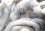 "CVM Romeldale Roving - ""Aster"" -  Ecru  - 2 oz bundle"