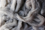 "CVM Romeldale Roving - ""Begonia"" -  Grey  - 2 oz bundle"