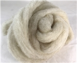 "CVM Romeldale Roving - ""Sue"" - Light grey"