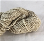 CVM Romeldale yarn - worsted - Aster - pale tan 200yds