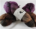 Kid Hollow 3 ply - MoKa Farm Yarn - Mahogany