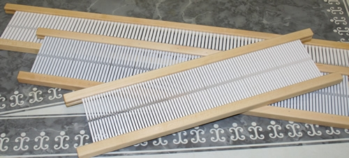 Schacht Heddles for the 10 inch Cricket Loom
