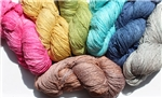 """Summer"" Cotton Rayon Yarn - Almost Solid"