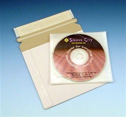 Peel and Seal DVD Mailer with Soft Inner Sleeve (10 Pack)