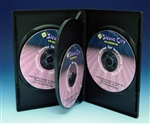 budget 4 disc dvd case full sleeve