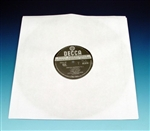 Polylined Paper Record Sleeves (50 Pack)