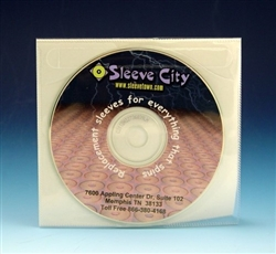 adhesive cd dvd tamper resistant sleeve sample