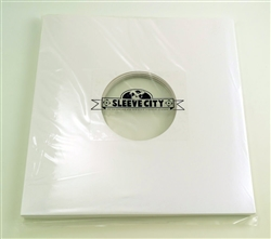 "10"" Die-Cut White Jacket Sample"