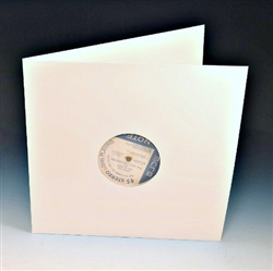 white die cut lp gatefold jacket