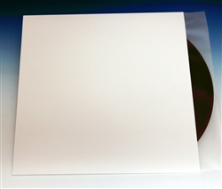 White Die-Cut LP Jacket (Pack of 10) Clearance