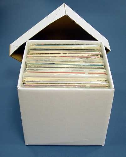 Ultimate LP Storage Box used to easilly and safely store your LPs